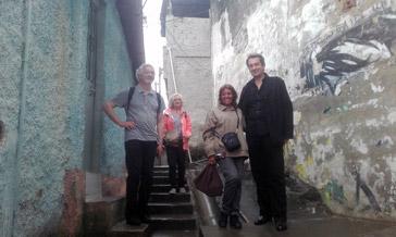 La délégation du LIHP en visite à Sanra Eualia
